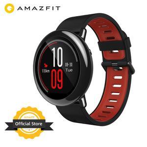 Оригинальные Смарт-часы Amazfit Pace Amazfit, умные часы с Bluetooth, уведомлением, GPS, информацией, пульсометром для Android