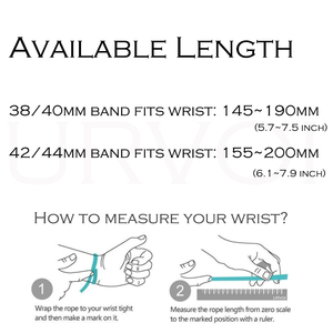 Image 2 - URVOI Leather loop for apple watch series 5 4 3 2 1 strap for iwatch 40 44mm soft PU leather band comfortable with magnet buckle