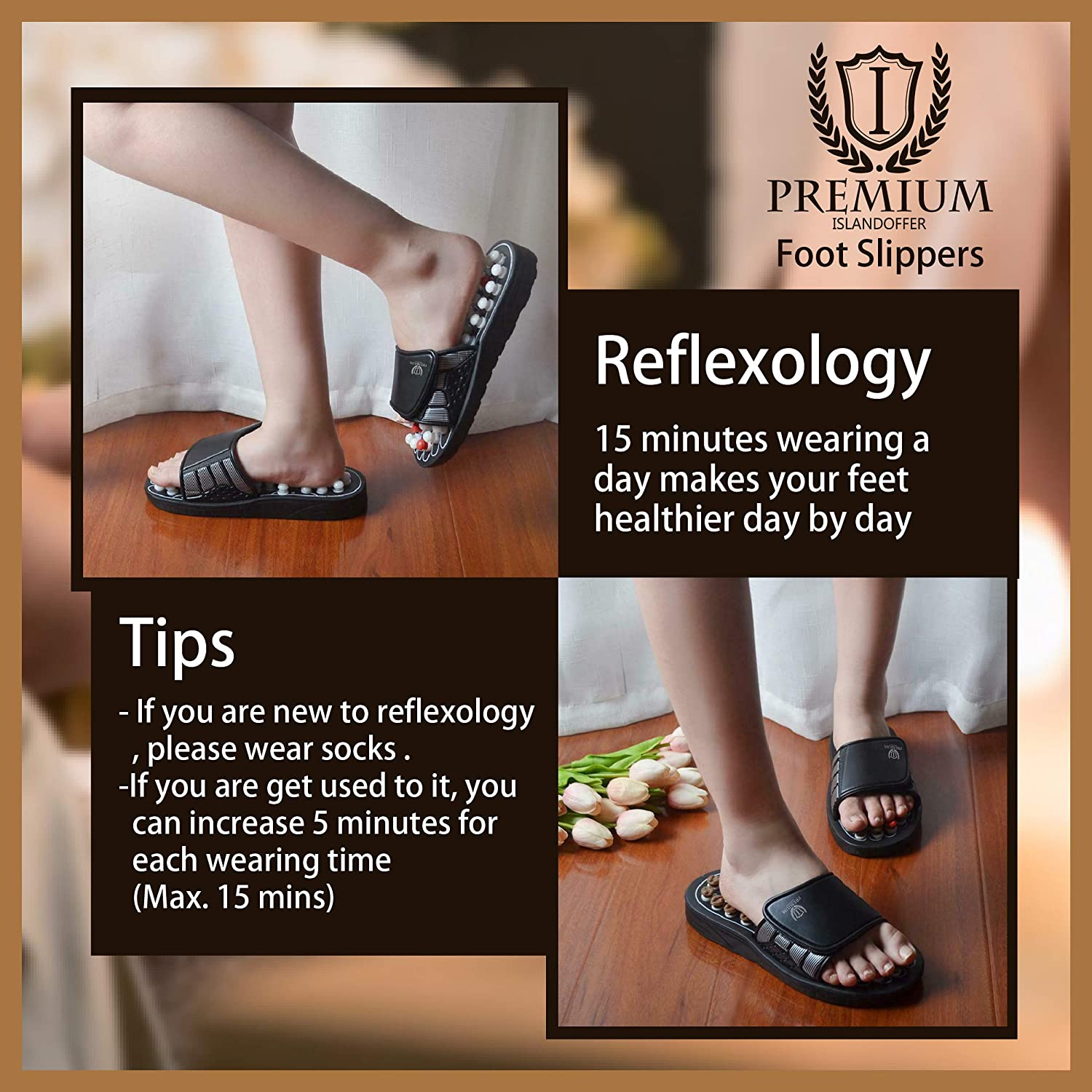 FOOT MASSAGE TAIJI ACUPOINT MAGNETIC THERAPY