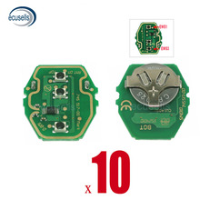 10PCS ใหม่ EWS REMOTE 3 ปุ่ม Circuit Board 433MHZ หรือ 315MHZ สำหรับ BMW KEYLESS KEY