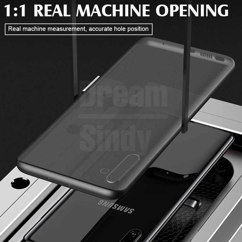 Роскошный ультра тонкий чехол 0,26 мм для samsung Galaxy S8 S9 S10 Plus S10E чехол для Note 8 9 10 Pro PC противоударный чехол