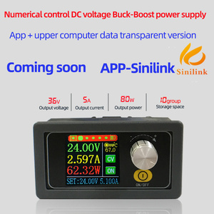 Image 3 - XYS3580 DC DC Buck Boost CC CV 0.6 36V 5A Power Module 5V 12V 24V Adjustable Regulated laboratory power supply variable