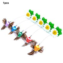 Non-toxic And Tasteless More Interactive Exercise Body Automatic Rotation Hummingbirds Flying Rotating Butterflies(China)