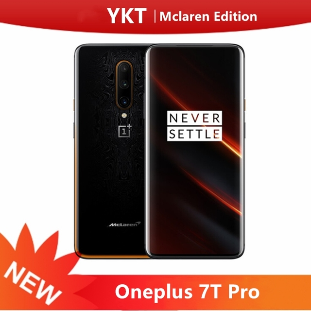 Oneplus 7T Pro Mclaren Edition Snapdragon 855+ 12GB 256GB 6.67'' AMOLED Screen 90Hz Refresh Rate 48MP Triple Cam 4085mA NFC 1