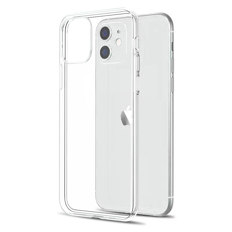 Ultra Thin Clear Case For iPhone 11 12 13 Pro Max XS Max XR X Soft TPU Silicone For iPhone 6s 7 8 SE 2020 Back Cover Phone Case