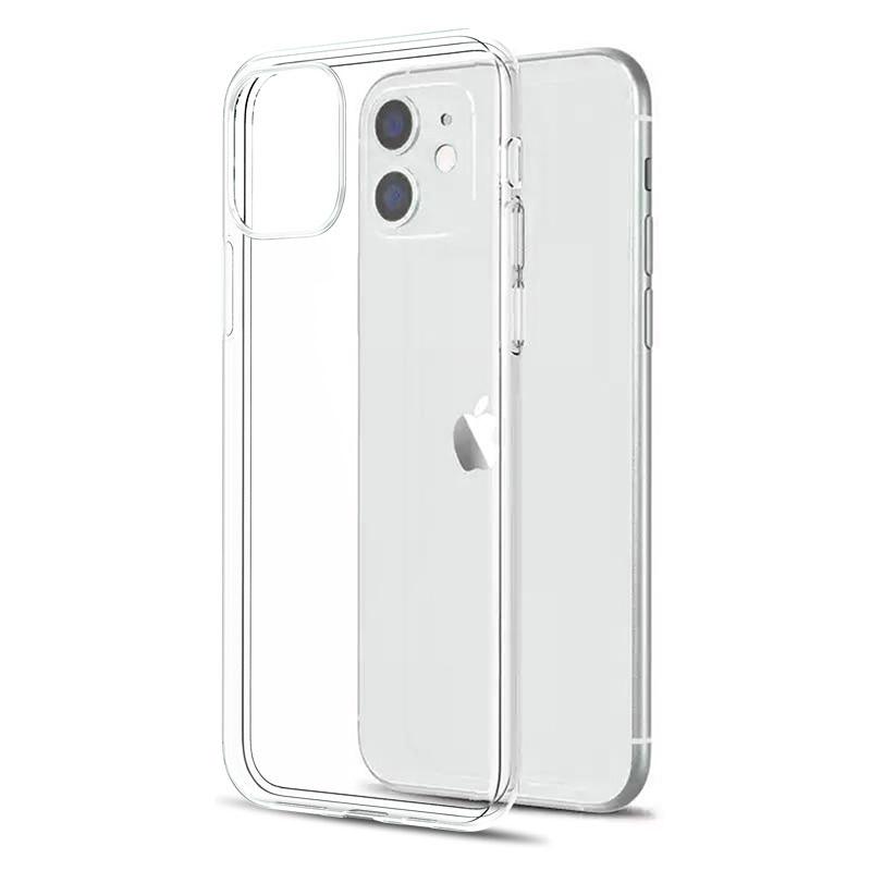 Coque arrière en Silicone TPU Ultra-mince pour iPhone, compatible modèles 5, 6, 6s, 7, 8, 11, 12 Pro Max, XS Max, XR, X, SE 2020