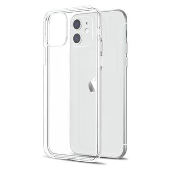 Ultra cienki przezroczysty futerał na iPhone 11 12 Pro Max XS Max XR X miękki TPU silikonowy na iPhone 5 6 6s 7 8 SE 2020 tylna okładka etui na telefon tanie i dobre opinie PIN KUO CN (pochodzenie) Bumper For apple iphone 11 pro max Clear Silicone Case Apple iphone ów Iphone5c Iphone 6 Iphone 6 plus