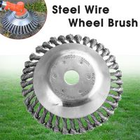 180mm Steel Wire Trimmer Head Grass Brush Cutter Garden Tool Dust Removal Grass Tray Plate for Lawn mower