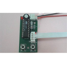 500mA DC4-6V Micro 2-phase 4-wire stepper motor driver programmable