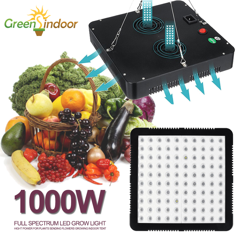 Led Grow Light Full Spectrum 1000W Indoor Plant Light Lamp For Plants Growing Lamps Panel Fitolampy Fitolamp Phyto Seed Flowers
