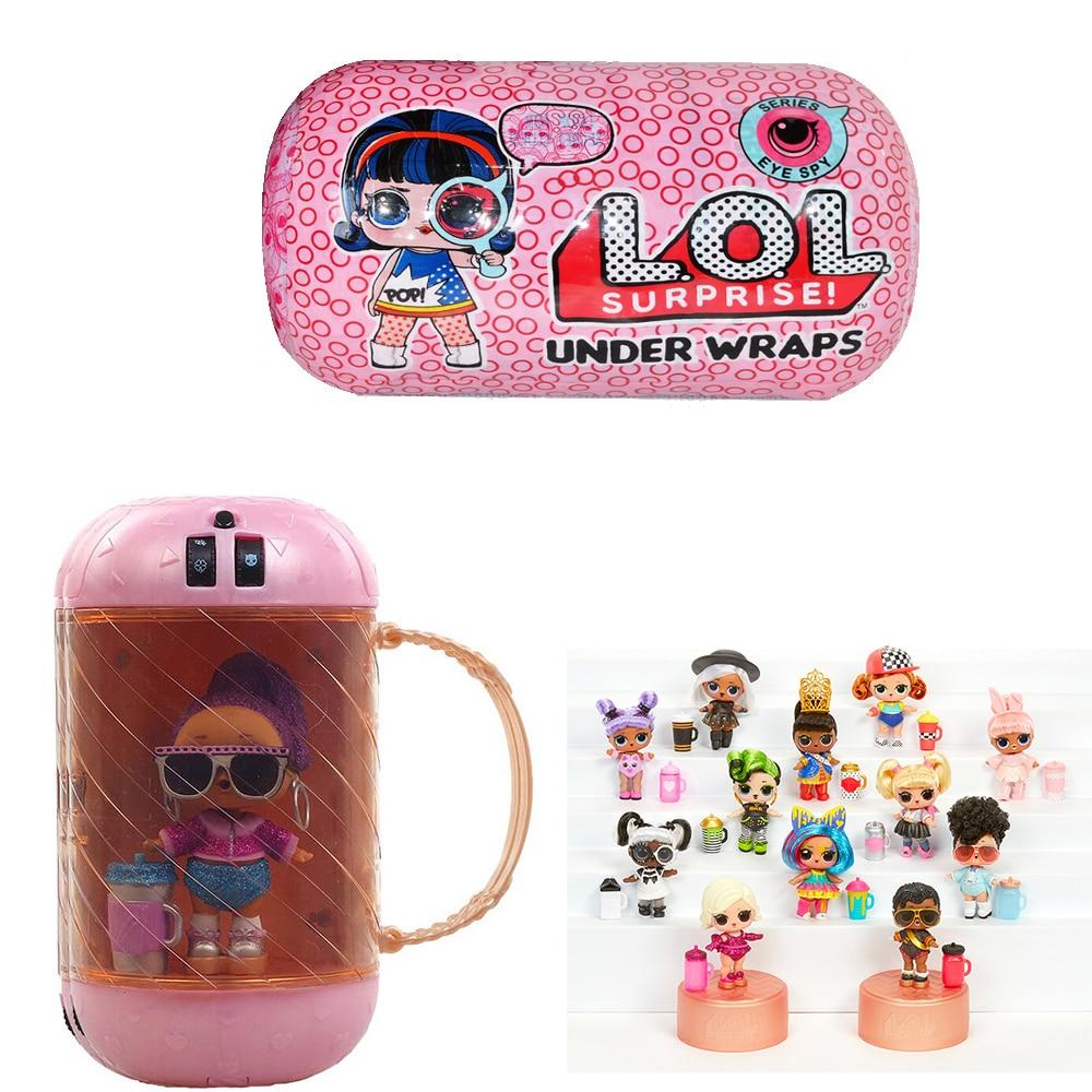 Hot Big Glitter Unpacking LOL Dolls Surprise Figures Action Toys Original Ball Novelty For Kid's Birthday Christmas Gift