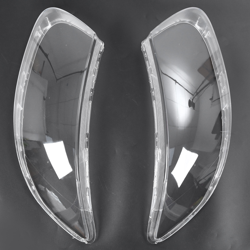 Clear Lens Shell Cover Car Front Headlight Cover Replacement For Hyundai Santa Fe 2008 2009 2010 2011 2012