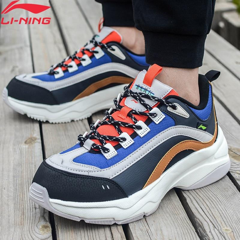 Li-Ning Men AURORA WINDWALKER WINTER Classic Shoes Lifestyle Comfort LiNing Li Ning Retro Sport Shoes Sneakers AGCP245 YXB339