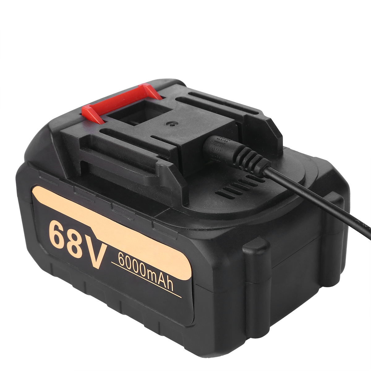3300RPM 380Nm Brushless Cordless Electric Impact Wrench Tool 6000mAh 68V Battery