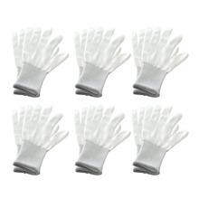 6 Pair Vinyl Anti-static Window Tint Car Wrap Gloves Tinting Work Gloves Nylon Carbon Fiber Car Stickers Film Install Tool cheap SPEORX RUIYYT Auto Lampe Film CN (Herkunft) 20 5cm 10cm