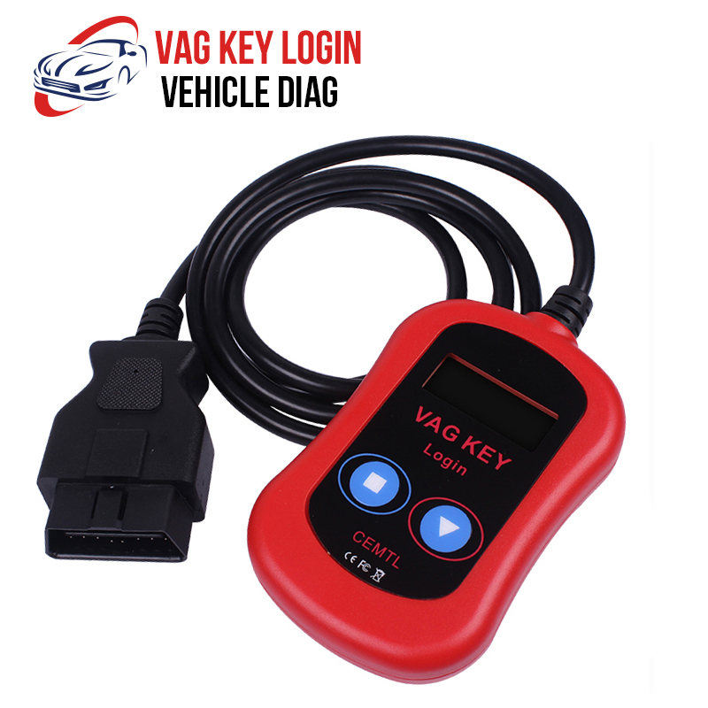 For VAG Key Login OBD Key Programmer Read PIN Code To Program Remote And Transponders For Audi/Seat/Skoda