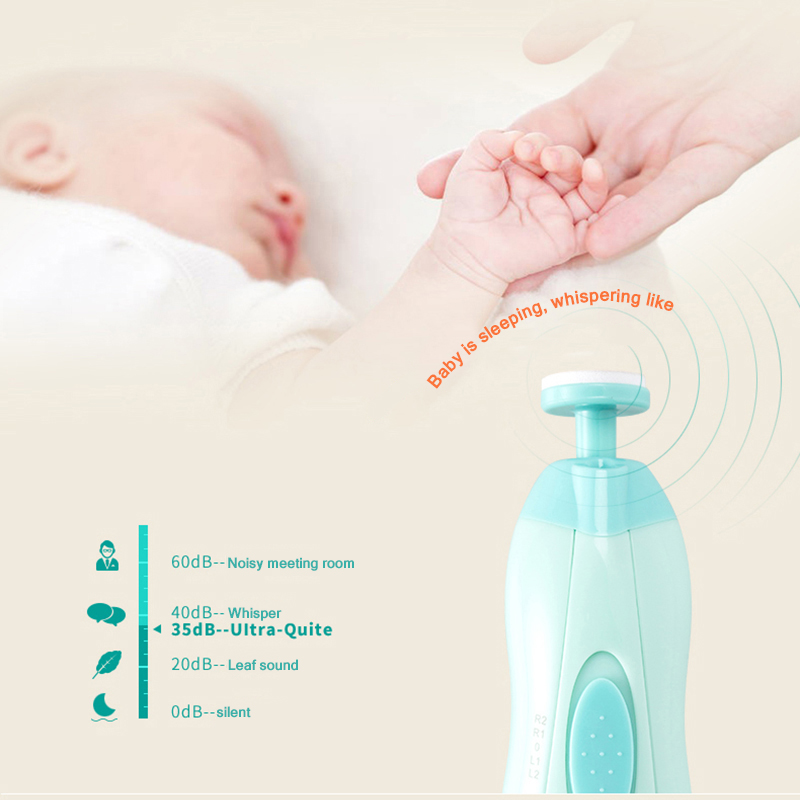 Electric Baby Nail Trimmer & Manicure 2