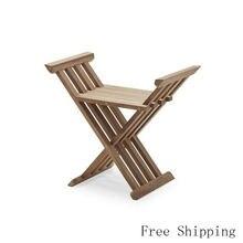 Королевский стул портативный деревянный для отдыха на открытом