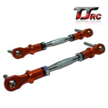 CNC Alloy Steering Turnbuckle Tie for 1/5 RC HPI BAJA Rovan King Motor 5B 5T 5SC rc car parts