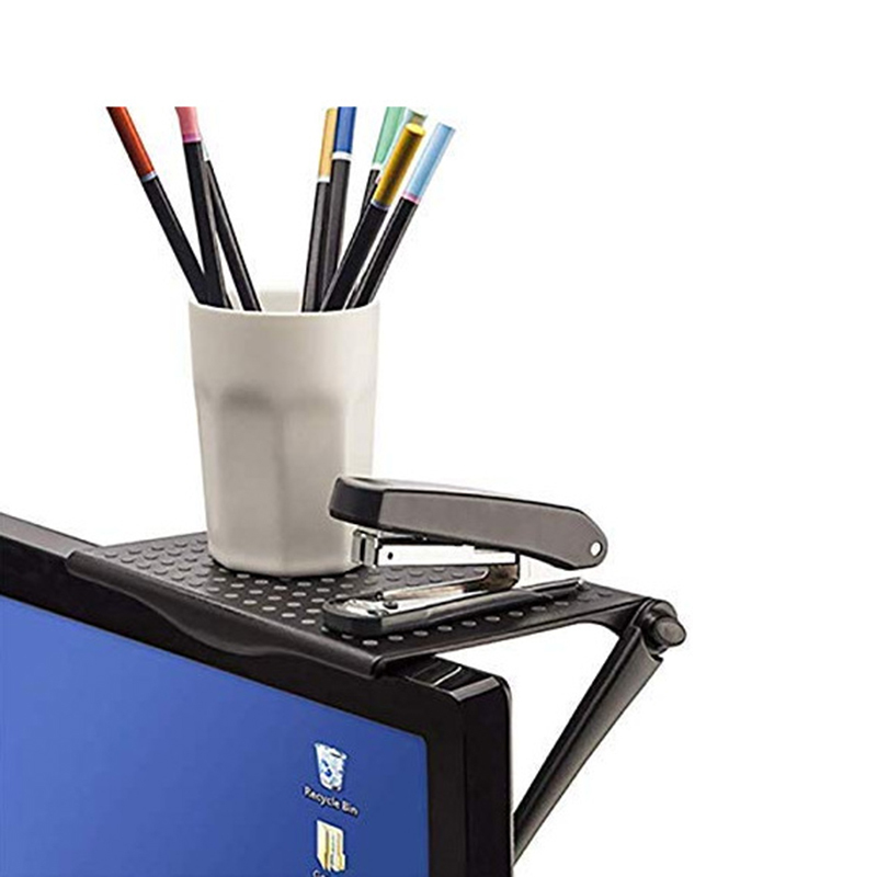 Adjustable TV Screen Top Shelf With Folding Design For Office Use