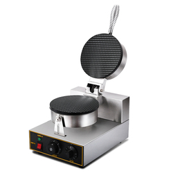 220V Ice Cream Cone Maker Electric Commercial Pancake Making Non-Stick