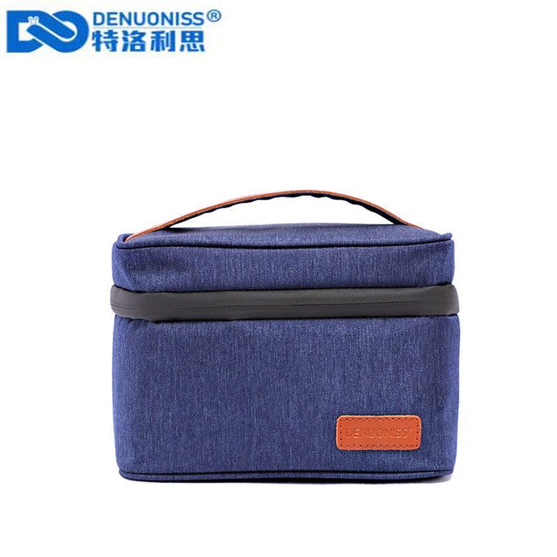 DENUONISS Small Cooler Bag Protable Fridge Oxford Food Refrigerator Bag EVA Insulated Picnic Bag Isothermal Cooler Ice Box Bag