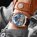 Zwitserland Luxe Merk Waterdichte Militaire Sport Horloges Mannen Dubbele Tourbillon Horloge Automatische Mechanica Klok Relogios