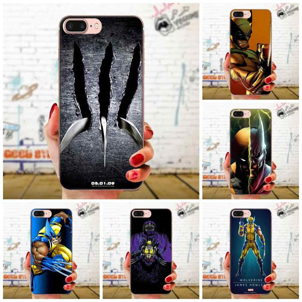 Marvel men Логан Росомаха для Xiao mi 3 mi 4 mi 4C mi 4i mi 5 mi 5s 5X6 6X8 SE Pro Lite A1 Max mi x 2 Note 3 4 люкс