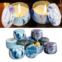 Candle Tin Jars 1pc-Holder Case for Dry-Storage Spices Camping Party Favor Sweets DIY