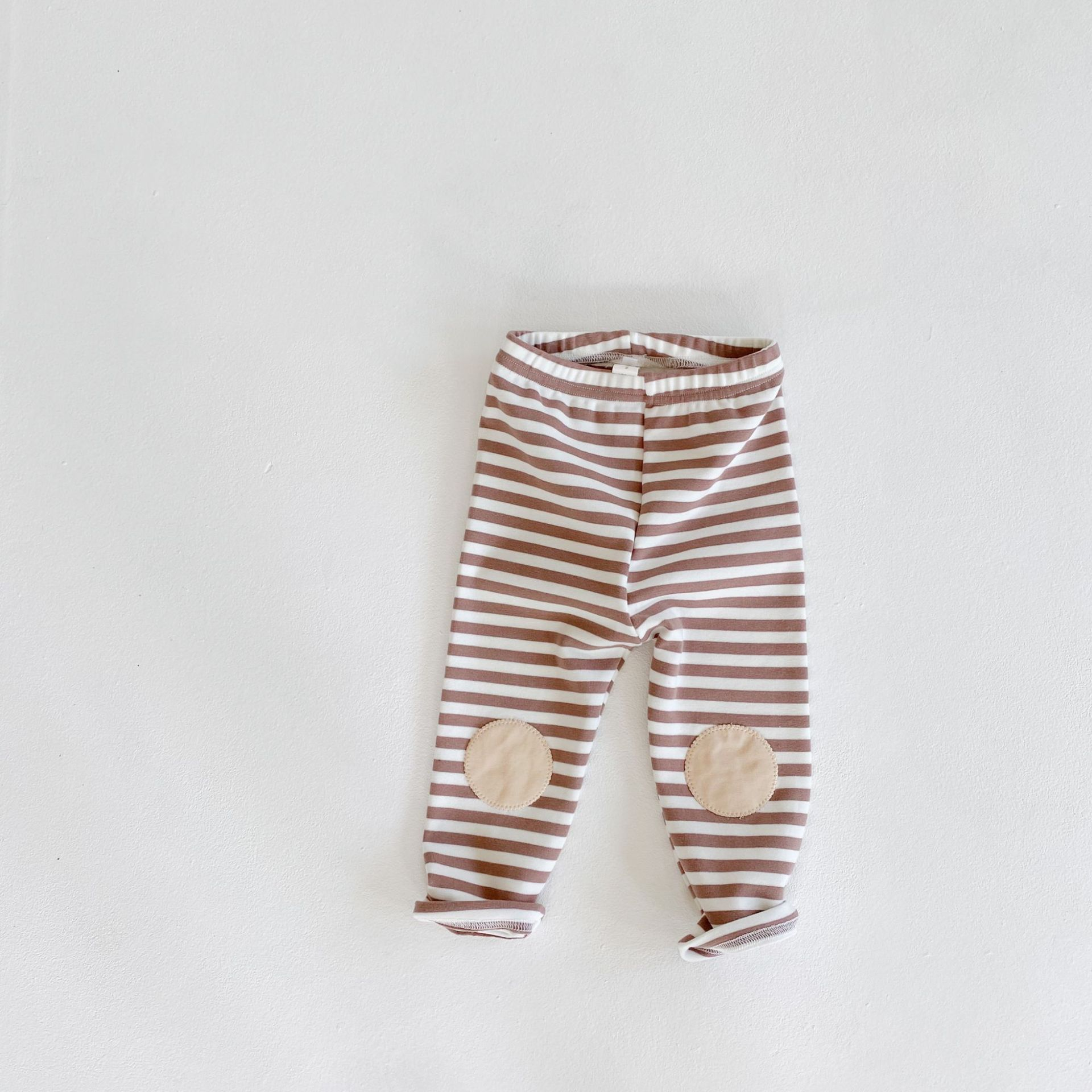 meia-calça meninas do bebê listrado leggings crianças