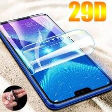 Гидрогелевая защитная пленка 29D для Huawei Honor 20 Pro 20S 9X 8X, Защитная пленка для Huawei Nova 6 SE 5T 3 3i, не стекло