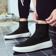 Men Sock Sneakers Footwear Walking Shoes Fitness Sock-Like M