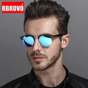 RBROVO 2019 Semi-Rimless Brand