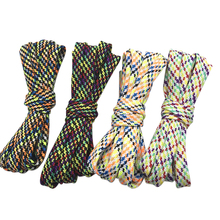 (30Pairs/Lot) Weiou Quality Flat Polyester Tubular Laces Multicolor Shoelace Suitable For White Flats Shoes Boots Appointment