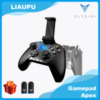 Flydigi Apex Esports Bluetooth pubg mobile Wireless Gaming Controller (With Phone holder) Gamepad for PC Mobile Phone Pad