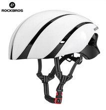 цена на ROCKBROS Ultralight Bike Helmet Cycling EPS Helmet Reflective Safety Hat Cycling Helmet Casco Ciclismo Capacete Bike Accessorie