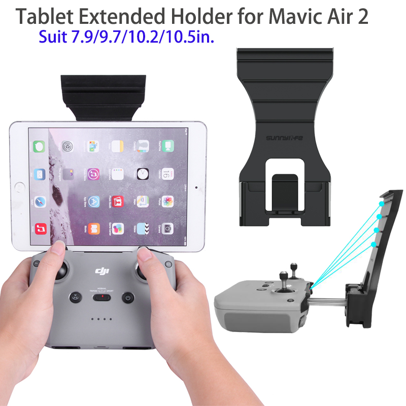 Remote Controller Tablet Holder Tablet Extended Bracket Clip Holder For DJI Mavic Air 2 Drone Accessories