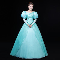 The Little Mermaid Ariel Princess Top Quality Fashion Cosplay Costume Dress For Halloween Party Costumes Custom Made