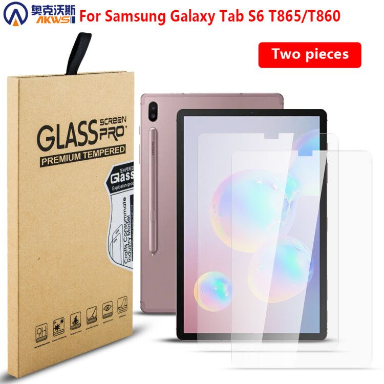 2PCS! Screen Protector Tempered Guard For Samsung Galaxy Tab S6 10.5 T860 T865 SM-T860 SM-T865 Tempered Glass Protective Film