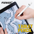 FONKEN Active Stylus No Delay Capacitive Touch Pen Universal High Precision Mobile Phone Tablet Screen Charging Drawing Pencil