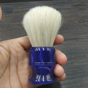 Image 5 - Dscosmetic brocha de afeitar con nudos cerdas de jabalí, 26MM, con mango de resina