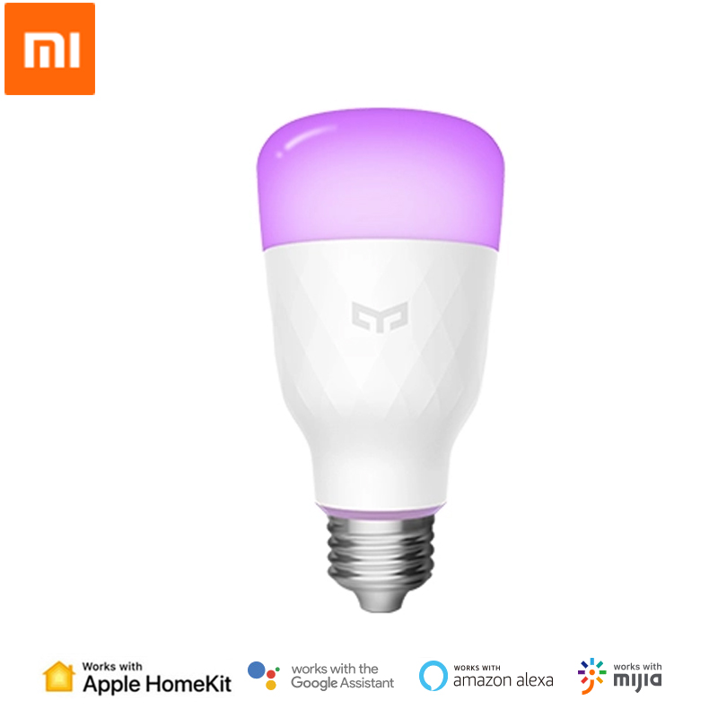 Xiaomi Yeelight Smart LED Bulb Color Version E27 E26 10W 800 Lumens WiFi Remote Control Work With HomeKit MIJIA Smart Home APP