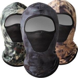 Солнцезащитная маска для защиты от ультрафиолета и льда с капюшоном, сетка, маска для пустыни, противомоскитная шапочка для мужчин, для езды...