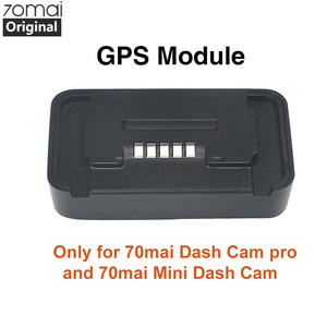 Image 1 - Original Xiaomi 70mai Pro GPS Module for 70 mai Dash Cam Pro 70mai Dash Cam Lite Car Dvr Pro GPS ADAS function Video Recording