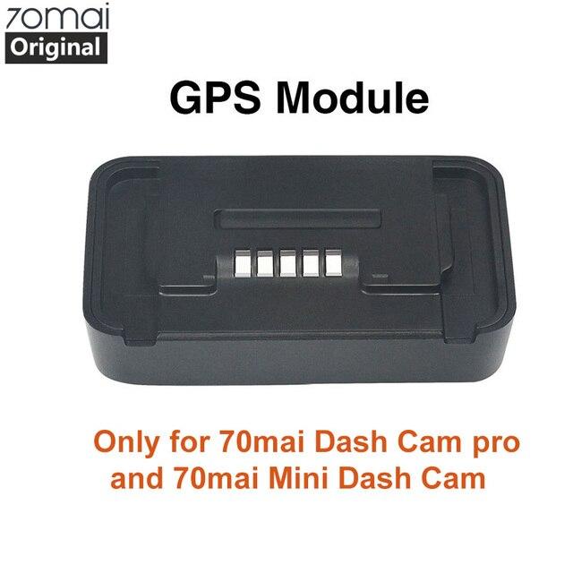 Oryginalny moduł gps Xiaomi 70mai Pro dla 70 mai kamera na deskę rozdzielczą Pro 70mai kamera na deskę rozdzielczą Lite wideorejestrator samochodowy Pro GPS funkcja ADAS nagrywanie wideo