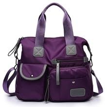 New Ladies Fashion Waterproof Oxford Tote Bag Casual Nylon Shoulder Bag Mummy Bag Large Capacity Canvas Travel Messenger Bag