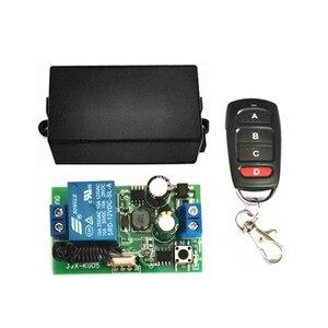 Image 2 - Interruptor inalámbrico de 433 MHz, CA de 110V, 220V, 1CH, TRANSMISOR DE RF, Control remoto, receptor de relé RF para abridor de puerta de garaje ligero