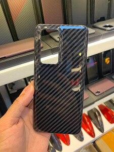 Image 4 - Sợi Carbon Ốp Lưng Điện Thoại Huawei P40pro Huawei P40 Mỏng Và Nhẹ Thuộc Tính Aramid Chất Liệu Sợi Ốp Lưng