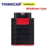 Thinkcar Thinkdiag configurazione Software completa 1 anno aggiornamento gratuito 15 servizio Bluetooth Android IOS OBD2 strumento diagnostico Scanner