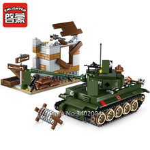 380Pcs Military War Tiger Tank Counterattack Exercises ARMY Technic Soldiers Building Blocks Bricks Toys for Children creator blocks technic compatible legoinglys military world war ii tiger tank weapons armored vehicle bricks toys for children